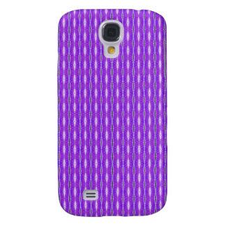 simple cute purple white pern samsung galaxy s4 case