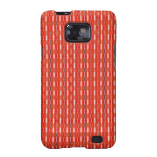 simple cute red white pattern samsung galaxy s2 case