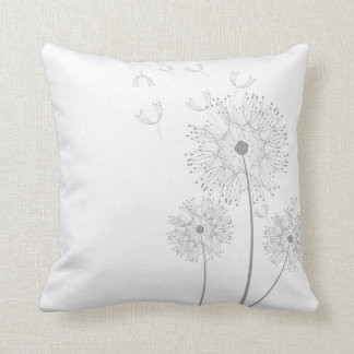 Simple Dandelion Seeds Blowing Cushion