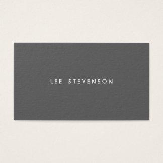 Simple Dark Gray Minimalist Modern Professional