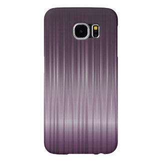 Simple Deep Purple Carbon Fiber Texture Samsung Galaxy S6 Cases