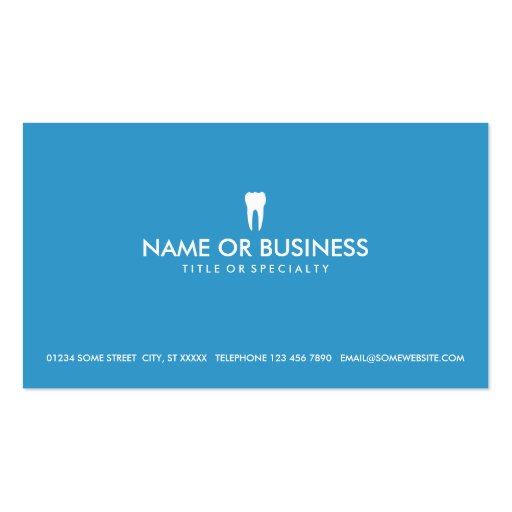 Premium dental business card templates simple dentistry business cards reheart Image collections