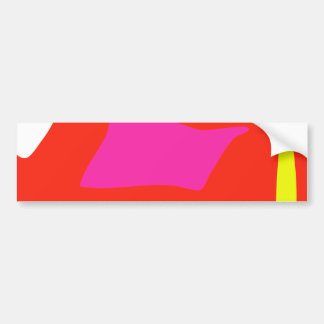 Simple Design Bumper Sticker