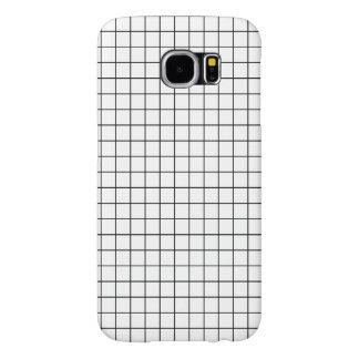 Simple design Plaid Square Pattern - Case Samsung Galaxy S6 Cases