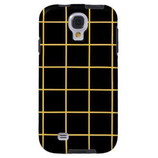 Simple design Plaid Square Pattern Samsung Case Galaxy S4 Case