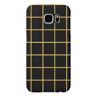 Simple design Plaid Square Pattern Samsung Case Samsung Galaxy S6 Cases