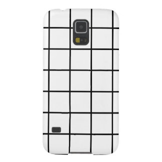 Simple design Plaid Square Pattern Samsung Galaxy Galaxy S5 Case