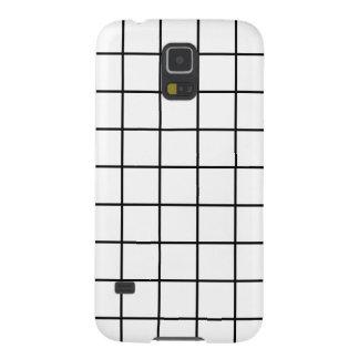 Simple design Plaid Square Pattern Samsung Galaxy Galaxy S5 Cover