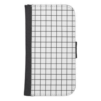 Simple design Plaid Square Pattern - Wallet Case