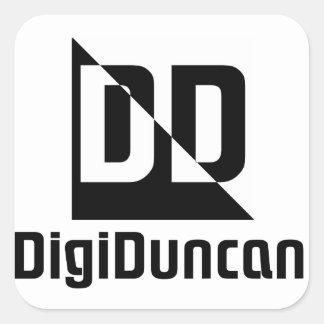 Simple DigiDuncan Logo Sticker