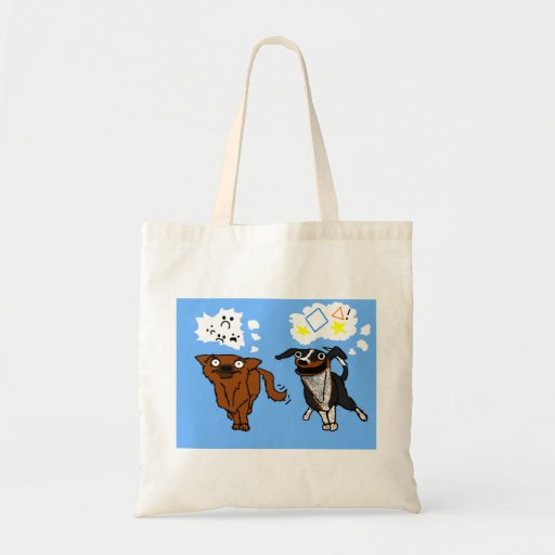 Simple Dog and Helper Dog Bag