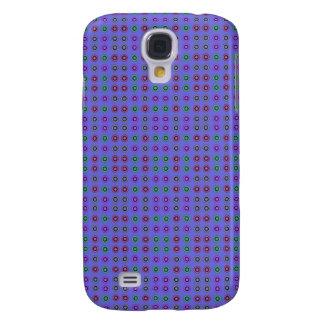 Simple dot pattern blue samsung galaxy s4 case