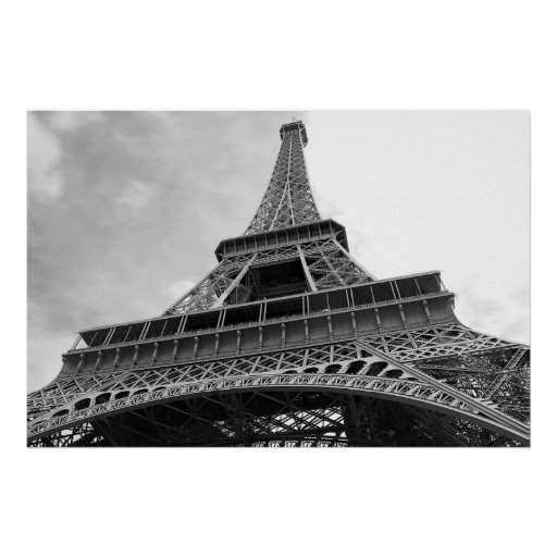 Simple Eiffel Tower Print
