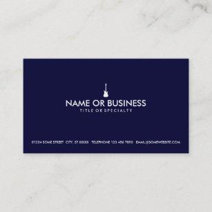 Electric guitar business cards business card printing zazzle uk simple electric guitar business card colourmoves
