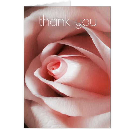 Simple Elegance Thank You Card