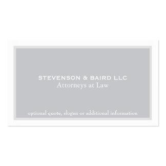 Simple Elegant Attorney Professional Business Card