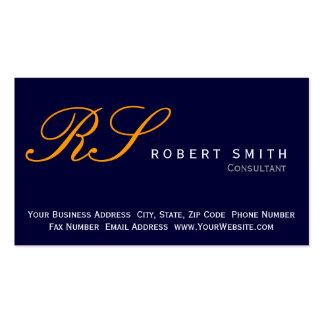 Simple Elegant Consultant Business Card