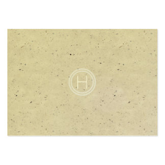 Simple Elegant Modern Monogram | Speckle Pack Of Chubby Business Cards