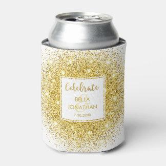 Simple Elegant Wedding Gold Glam Glitter Custom