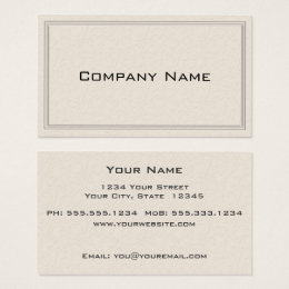 Floral embossed business cards business card printing zazzle uk simple embossed floral border business card reheart Image collections