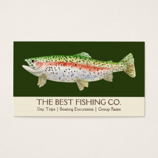 Simple Fishing Charter Boat Guide Business Fish
