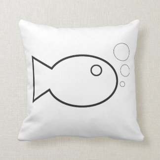 simple fishy pillow