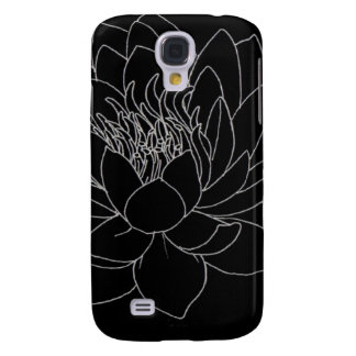Simple Floral - Beautiful Lotus Galaxy S4 Case