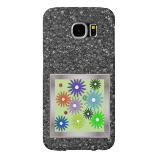 Simple floral pattern (I) Samsung Galaxy S6 Cases