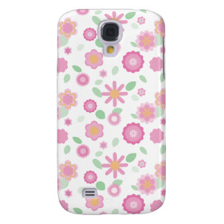 Simple Floral-spring Galaxy S4 Covers