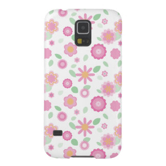 Simple Floral-spring Case For Galaxy S5