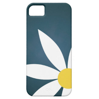 Simple Floral Teal Illustrated phone case