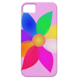 Simple Flower Art Pink Mist iPhone 5/5S Case