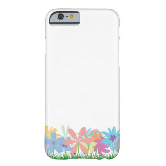 Simple Flower Design Barely There iPhone 6 Case