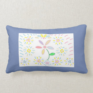 Simple Flower Design Pillow