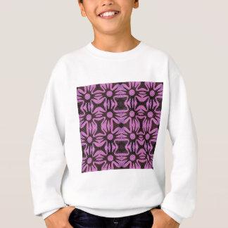 simple flower repeat sweatshirt