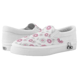 Simple Flowers 1 ~ Slip On Sneakers