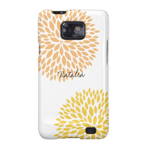 Simple Flowers Samsung Galaxy S2 Cover