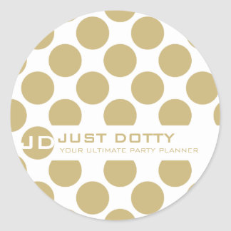 SIMPLE FUN STICKER :: bold dots 12