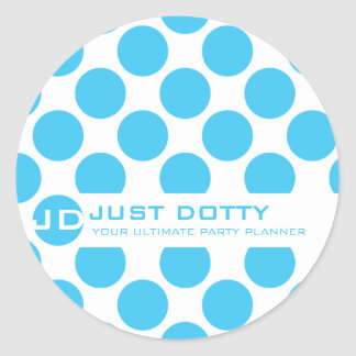 SIMPLE FUN STICKER :: bold dots 5