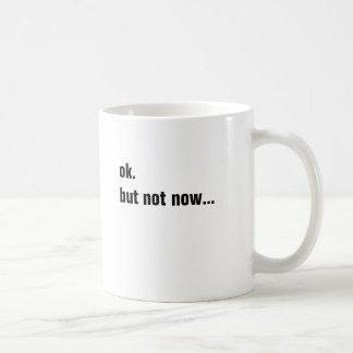 simple funny phrase basic white mug