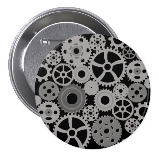 simple gears button