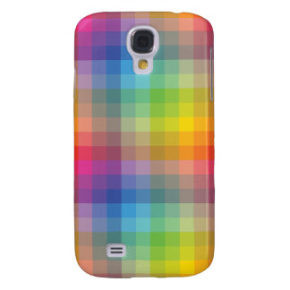 Simple Geometric Color Full Galaxy S4 Cases