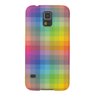 Simple Geometric Color Full Case Cases For Galaxy S5