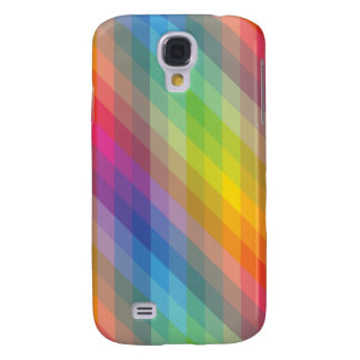 Simple Geometric Color Full Galaxy S4 Case