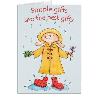 Simple Gifts Card