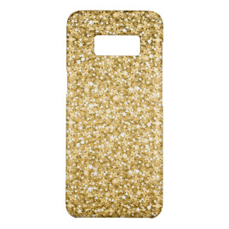 Simple Gold Glitter White Sparks Case-Mate Samsung Galaxy S8 Case