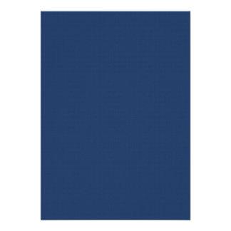Simple graceful retro blue surface invitations