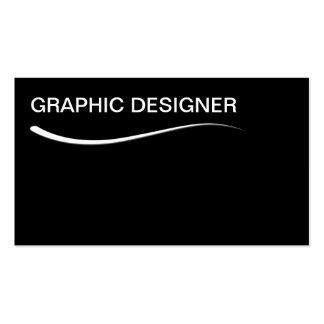 Simple Graphic Designer Business Cards