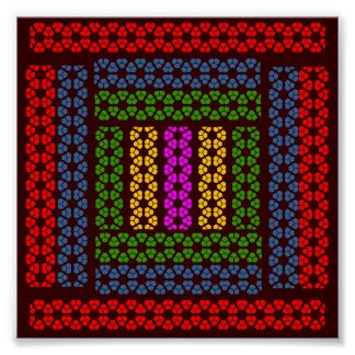 Simple Graphics - Exotic Happy Patterns Poster