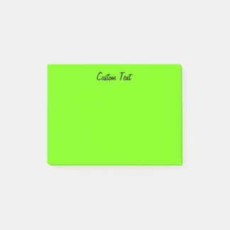Simple Green Post-it Notes